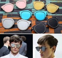 2015 gafas de sol del diseñador de la alta calidad de las gafas de sol de la marca de fábrica para los vidrios de Sun de la manera de las mujeres para los colores de los hombres 7 envío libre