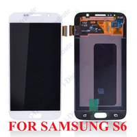 Wholesale For Samsung Galaxy S6 G925F LCD Screen With Touch Screen Digitizer Assembly A Quality