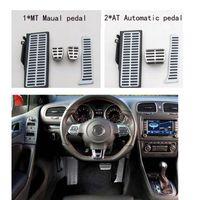 beetle pedal - Metal anti skid car pedal gas Brake pad foot rest cover accelerator for VW Volkswagen Magotan CC Passat Beetle Superb