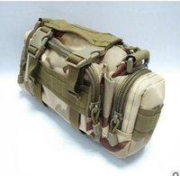 Wholesale HOHO Sports and leisure mountaineering bags men s canvas bag diagonal pockets deep forest operations