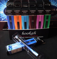 Cheap High Quality Electronic Disposable HOOKAH 800Puffs various fruit flavors E Cigarette e shisha pens e hookahs ehookah pen free shipping