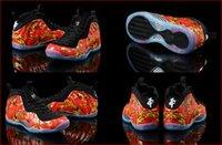 Wholesale With Box Hot Sale Penny Hardaway Supreme Flower Men Basketball Sport Foamposite Sneakers Shoes