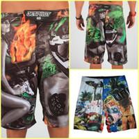 Wholesale 2017 Hot Men s Board Shorts Surf Trunks Swimwear with Wax Comb Twin Micro Fiber Boardshorts Beach Short High quality Jet Unit