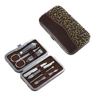 Wholesale Hot Sales Set Nail Clipper Manicure Tools Kits Beauty Care Stainless Steel JH24