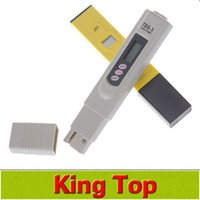 Wholesale New PH Meter accurate digital PH Meter Pen pocket Aquarium PH Value Test Pen PH Tester