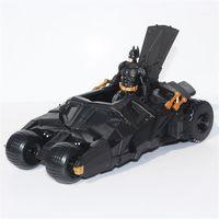 batman toy cars - BATMOBILE TUMBLER BATMAN VEHICLE THE DARK KNIGHT TOY Figure BLACK CAR TOYS EMS