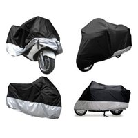 Wholesale Brand New XLarge Motorcycle Waterproof Outdoor Motorbike Rain Vented Bike Cover Black good quality