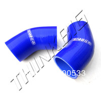 Wholesale Universal mm to mm Silicone Hose degree reducer connector elbow Coupler silicone tube Car Silicone hose Blue
