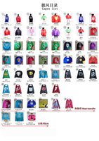 Wholesale 54 styles super hero capes Boy Costume for Children Halloween Party double side Costumes Captain Capes Cloaks Star Wars Cape