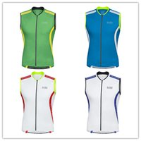 Wholesale sleeveless jersey Gores cycling vest for men mountain bike clothes spring summer style maillot cilismo bicicleta
