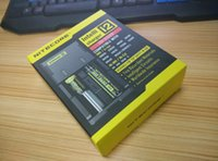 Wholesale 2016 New Nitecore I2 Universal Charger for Battery E Cigarette in Muliti Function Intellicharger Rechargeable