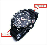 Wholesale W1000 Watch Mini spy Camera DVR GB HD P with IR Night Vision function HD Waterproof