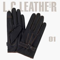 fashion gloves leather - Fashion Telefingers Gloves Men Women Thickening Warm Touch Screen Gloves Cashmere Washable Leather Gloves EMM