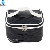 air compressor storage - Hot Sale OPHIR Portable Patent Leather Airbrush Bag Suitable for Mini Air Compressor Airbrush Gun Storage Bag_AC080