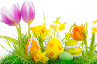 Wholesale 7x5ft Easter Theme Vinyl Photography Backdrops Props Photography Studio Background FH