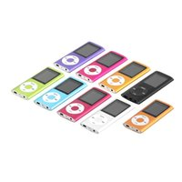 Wholesale New th inch LCD Screen MP3 MP4 Player Memory sd Card Slot GB GB MP4 music Player Radio FM with Earphone Worldwide Sale