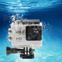 Wholesale 1080p Full HD Sports Camera Degree Lens Sports DV m Waterproof Cam Recorder Inch LCD DVR45 Z