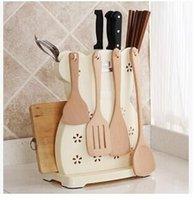 aluminum kitchen utensils - Simple environmental protection the knife rack Aluminum plastic the knife rack Anti rusty kitchen utensils