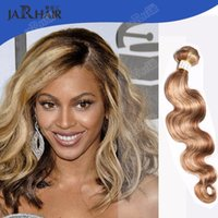 Cheap Mixed Color Virgin Remy Hair Bundles Fashion Brazilian Remy Hair Weave #8 #613 Mixed Tone Body Wave Remy Brazilian Hair Weft 3pcs