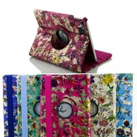 ipads - For iPad Air Case inch Tablet PC Cases iPads Fashion Garden Wake Sleep Smart Cover Apple Rotating Routing PU Leather Case