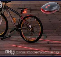 bycicle - Outdoor Bicycle Bike Cycling Led laser Tail Light Safety Rear Retail Warning Model Lamp LED bycicle light