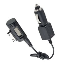 Wholesale 1pcs FM Transmitter NEW Universal in Car Charger for iPod Drop Shipping WholesaleBrand New