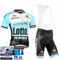 bicycle wear - Hot Sale Newest Pro Team Bao Blue Colors lotto cycling jerseys short sleeve style bicycle clothing bike wear short bib sets clothes