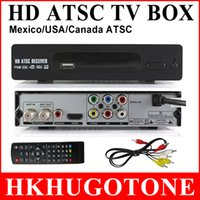 digital tv converter box - High Quality HD P Digital Converter TV BOX ATSC Video HDMI Converter BOX Satellite Receiver for Mexico USA Canada