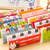 Wholesale Owl Cartoon Pages Sticker Post It Bookmark Tab Note Pads Sticky Notes D0292