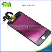 Wholesale For LCD ipod touch free shippng DHL with black and white colors