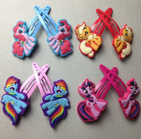 little girl jewelry - My little Pony Hair Clip Cute Baby Children Girl s Hairpins Hair Accessories Jewelry
