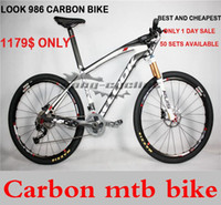 mountain bikes - 2015 New Model Look mountain bike er MTB bike carbon bicycle complete bikes er er mtb bicicleta carbon bicycle mtb LOOK986 Bike