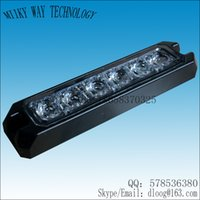 Wholesale VS LED Thin Grill Lights CREE W LED DC12V V LED surface mount Strobe Warning Flashing Light flash pattern waterproof
