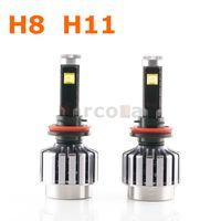 Wholesale H11 H8 W LED Headlight Offroad Auto ATV Boat Motorcycle Bike Fog Lamp Bulb