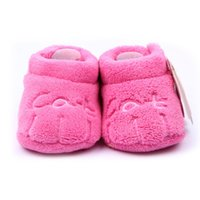 bear new shoes - 2015 New Fashion Cute Soft Coral Velve Baby Shoes With Cat Bear Cow Small Claws Baby Moccasins Colors JIA712