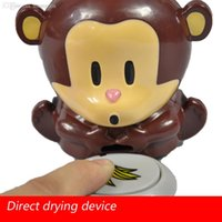 air blowing machine - dry battery air dryers Blow Monkey Nail polish machine cute little monkey nail dryer is drying machine nail dryer