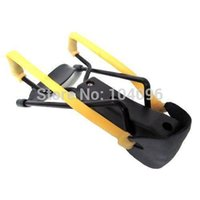 Wholesale Outdoor Tool Yellow Bands Powerful Wrist Folding Black Slingshot High Velocity Brace Hunting Catapult