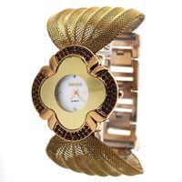 Cheap BAOHE JDW108 Fashion Dials Stylish Metal Band Wrist Watch for Women