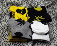 cannabis - old school wu tang clan Weed long socks Cannabis Hemp leaf street wear Skateboard fixed gear sport men women hiphop cool socks