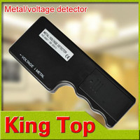 Wholesale 2in1 Mini Professional Dual use Electronic Metal Voltage Detector Metal Voltage Detector Electronic Metal Detector