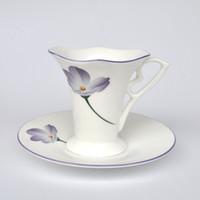 white mugs - C boeng Dielian cup coffee mug tea cup ceramic cup mug bone china mugs impression ml