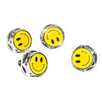audi license plate screws - 4pc set Smile Smiling Face License Plate Nuts Bolts Screws fr BMW Porsche Nissan Ford Lexus LINCOLN Lotus Audi AMG Standard Size