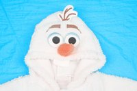 Wholesale 2014 frozen jacket olaf jacket winter coat hooded outwear children lovely fleece snowman coat kids jacket cashmere jacket