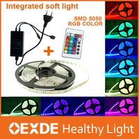 Wholesale Waterproof IP65 M SMD Led Strip Lights rgb Leds M flexible v led Strip Lamps Decorative Tree Christmas oexde light