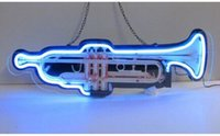 air musical instrument - Trumpet Shaped Musical Instrument Neon Sign Bar KTV Disco Club Store Sign Avize Neon Nikke Air Jorddan Neon Light Sign Tube quot X9 quot