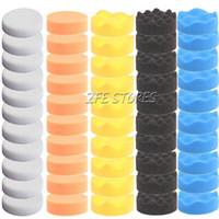 Wholesale 50pcs mm High Gross Polishing Buffer Pad Kit For Electric Car Polisher New