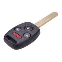 accord alarm system - Car Key Keyless Entry Remote Control Uncut Blade Flip Fob for Honda Accord Car Alarm Security System Replacement