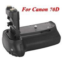Cheap New MeiKe MK-70D Vertical Battery Grip Multi-Power Battery Pack Holder for Canon 70D DSLR Camera Replace as BG-E14 BGE14
