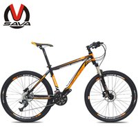 bike mountain - SAVA Speed Inch Mountain Bike M1 Aluminum Alloy MTB Bicycle Bicicleta SHIMANO Parts Double Disc Brake Colors