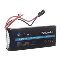 Wholesale BQY Futaba Transmitter LiPo Battery v mah connector for Futaba WFLY FS Transmitter Battery for Helicopter